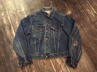 60's Levi's 70505 big-E denim jacket - BUTTON UP clothing
