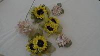 布花づくりで夏を乗りきりたい♪ - 愛知 豊橋 布花アクセサリーCendrillon