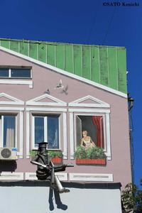 """014 ウラジオストクはストリートアートがあふれる町 - ニッポンのインバウンド""""参与観察""""日誌"""
