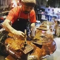 五ノ神製作所一号店「いつ樹」リニューアルオープン看板制作記⑤ - Studio fu-mine Copper Works