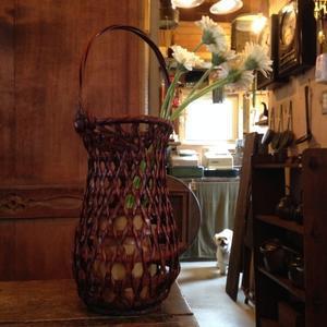 古道具と植物 『omochi家 』  徳島県 小松島市