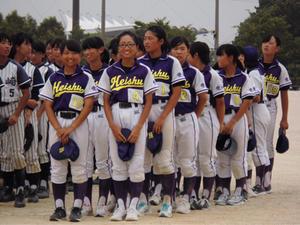 【郡大会】Part14 ソフトボール部表彰式 - 平洲中NOW29