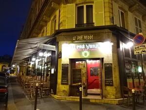 ル・プレ・ヴェール(パリ5区)Le Pre Verre Paris 5eme - Paris Gourmand パリのおいしい日々2