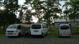 中札内キャンプ場 北海道35日目 - 空の旅人