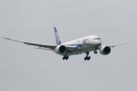 那覇空港 ANA B787-8のアプローチ - 南の島の飛行機日記