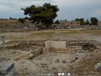 イローン或いはヒローン、いわゆる英雄神殿 古代コリントス - 日刊ギリシャ檸檬の森 古代都市を行くタイムトラベラー