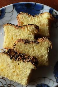 生姜と胡麻のケーキ - Baking Daily@TM5