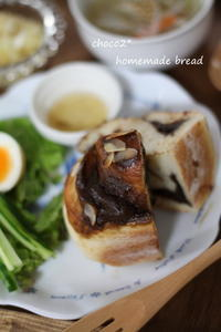 *りんご酵母パン 失敗コーヒーロール* - ちょこちょこ*homemade Life