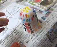 風鈴に絵を描こう!終了しました☆ - 絵画教室アトリえをかく