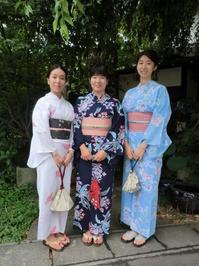 中国、北京から来られましたお嬢様たち、浴衣を着て。 - 京都嵐山 着物レンタル&着付け「遊月」