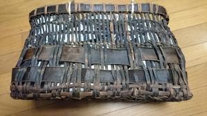 ボロ籠 再生プロジェクト - 古布や麻の葉