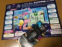 ●上野・深海展と再び蓮 - 太陽と大地のエクボ3
