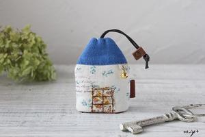 プチDIY!?小さなハギレで定番布小物♪青い屋根のお家建ちました - neige+ 手作りのある暮らし