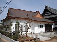 柱はヒノキ、化粧材は米ヒバを使った客殿新築工事 - 織戸社寺工務所 宮大工ブログ