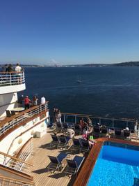 7月8日(土)乗船 あっちゅう間に出航してしまってたー。:ルビープリンセスアラスカクルーズ - あれも食べたい、これも食べたい!EX