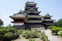 松本城 - レトロな建物を訪ねて
