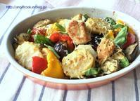 鶏肉と野菜のガーリック焼き - 天使と一緒に幸せごはん