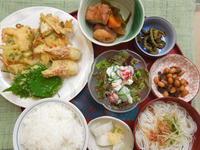自家製野菜のかき揚げ★(^^♪・・・・・700円ランチ - 日だまりカフェ