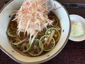 金沢(田上):石臼挽き手打ちそば 蕎香(きょうか)「夏の冷やかけそば」 - ふりむけばスカタン
