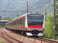 E233系ケヨ520編成返却回送(7/24) - 富士急行線に魅せられて…