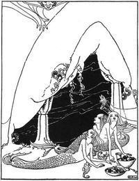 ドロシー・P・ラスロップ画:妖精詩集からペン画の人魚 - Books