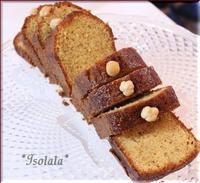 ヘーゼルナッツのオリーブオイルケーキ☆ - isolala日記