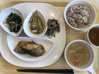 社食の地味な定食 - よく飲むオバチャン☆本日のメニュー