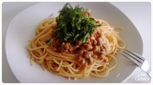 Espaguetis de Natto - Mexico, cielo despejado