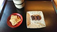 ビターチョコと緑茶のカフェ冬夏 Touka, High-cacao chocolate and green tea salon - latina diary blog