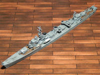タミヤ 1/700 日本海軍駆逐艦 島風 - サンフィッシュ飛行隊