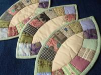 上品な配色&四つ葉のクローバー - eri-quilt日記3