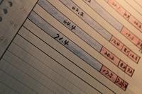 青と赤 7月の集計結果 - これが、わが家の家計簿です