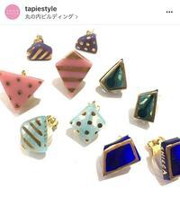 CHICCA個展//タピエスタイル 東京丸の内店 - CHICCA glass accessory
