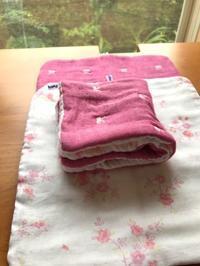 ピンク色のクロス - Flora 大人服とナチュラル雑貨