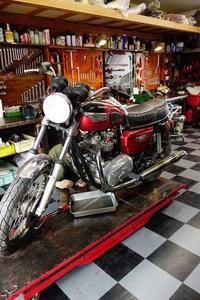 1978TRIUMPH T140E 分解作業 - Vintage motorcycle study