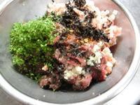夏鹿の『皮なし粗挽きソーセージ』 - フレンチ食堂 エスカルゴ