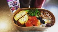 冷凍エビシュウマイでエビチリ風のお弁当… - miyumiyu cafe
