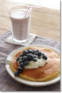 ブルーベリーな朝食。 - komorebi*