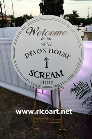 デヴォンハウスのアイスクリーム、オープニング・パーティー - ジャマイカブログ Ricoのスケッチ・ダイアリ