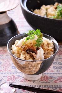 土鍋で美味しい♪鯛めし - cafeごはん。ときどきおやつ