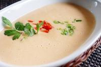 ■ベジタリアンのおもてなし朝ご飯【①ポテトマスープ♪】 - 「料理と趣味の部屋」
