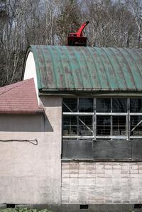 屋根の上の除雪機 - こんなものを見た2