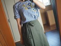 ラップスカンツ、シャツインで着てみた - めいの日々是好日