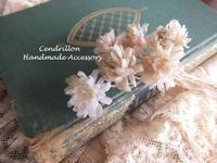 家族の気配を感じながらお花づくり♪ - 愛知 豊橋 布花アクセサリーCendrillon