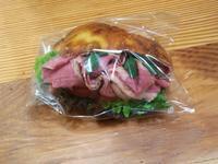 立川のセストのパストラミビーフのサンドイッチとすてきなお店 - ぱんのみみ
