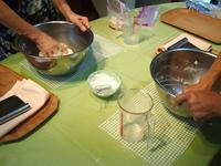 本日のお教室~バインミー&4種のレーズンとクリームチーズのパン☆ - 天然酵母パン教室☆ange☆