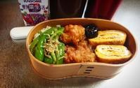 ピーマンとちりめん山椒の胡麻油炒めのお弁当… - miyumiyu cafe