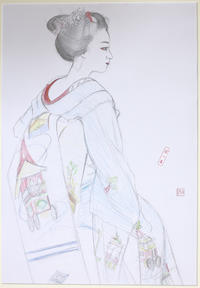 祇園舞妓さん モデル佳つ扇ちゃん - 黒川雅子のデッサン  BLOG版