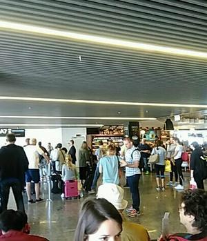 7/28フランツリスト空港にて - 一歩一歩!振り返れば、人生はらせん階段