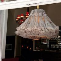ウィーンのカフェの可愛いランプシェード* - BLEU CURACAO FRANCE